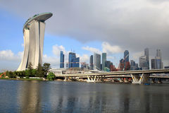 Casino de sable d'or, Singapour Photos stock