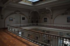 Casino de Sinaia, intérieur Photos libres de droits