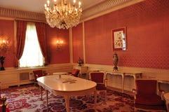 Casino de Sinaia, intérieur Image libre de droits