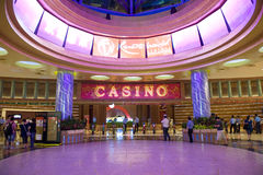 Casino de Singapore Imagem de Stock Royalty Free