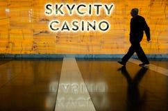 Casino de Skycity - Auckland Imágenes de archivo libres de regalías