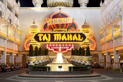 Casino de Taj Mahal del triunfo foto de archivo libre de regalías