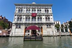 Casino de Venecia fotografía de archivo