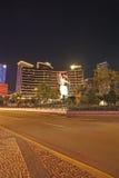 Casino de Wynn et hôtel par nuit, Macao Photo libre de droits