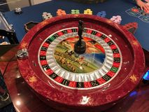 Casino del barco de cruceros foto de archivo
