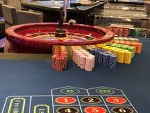 Casino del barco de cruceros fotografía de archivo