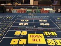 Casino del barco de cruceros fotos de archivo