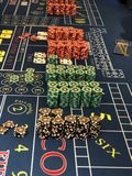 Casino del barco de cruceros imagen de archivo