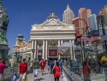Casino del hotel de Nueva York Nueva York en Las Vegas Imagen de archivo libre de regalías