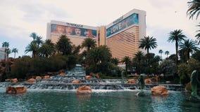 Casino del hotel del espejismo metrajes