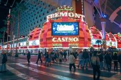 Casino del ` s Fremont de Sam Boyd en Las Vegas, Nevada fotografía de archivo libre de regalías