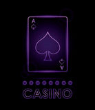 Casino design. Game icon. Colorfull illustration Royalty Free Stock Images