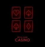 Casino design. Game icon. Colorfull illustration Royalty Free Stock Photos