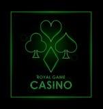 Casino design. Game icon. Colorfull illustration Stock Images