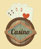 Casino design Royalty Free Stock Photography