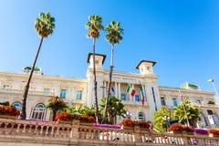 Casino di Sanremo. Italy. Casino Municipale Sanremo. Beautiful building in the modernist style in the city center Stock Images