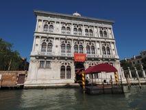 Casino Di Venezia in Venetië Royalty-vrije Stock Afbeeldingen