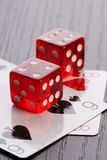 Casino dice Royalty Free Stock Image