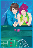 Casino Dice 4 Stock Images