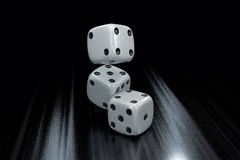 Casino Dice Background Royalty Free Stock Photos