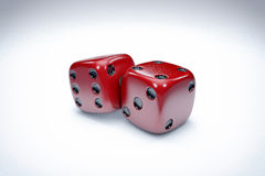 Casino Dice Background Stock Images