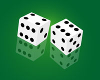 Casino dice game Stock Images