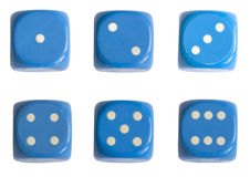 Casino dices Royalty Free Stock Photography