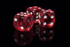 Casino dices Stock Photo