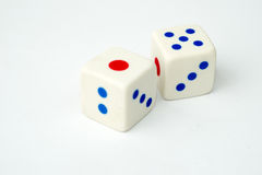 Casino dices Stock Images