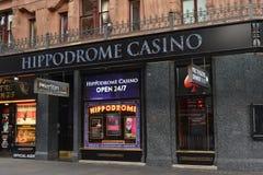Casino do hipódromo de Londres Imagens de Stock Royalty Free