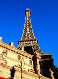 Casino do hotel da torre Eiffel, Las Vegas, Nevada imagem de stock