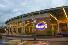 Casino do ` s de Harrah em Nova Orleães do centro foto de stock