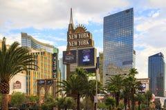 Casino e hotel York-novos novos de York em Vegas Imagens de Stock