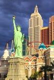 Casino e hotel York-novos novos de York em Vegas Fotos de Stock Royalty Free