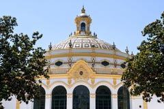 Casino e teatro Lope de Vega, Sevilha, Espanha Imagens de Stock