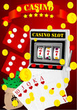Casino elements Stock Photos