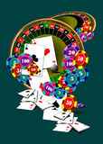 Casino elements Stock Photo