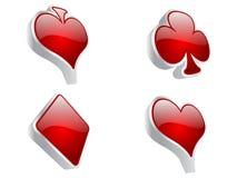 Casino elements Royalty Free Stock Photo