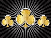 Casino elements - clover Stock Photo