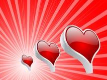 Casino elements - heart Stock Photo