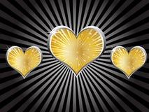 Casino elements - heart Stock Photography
