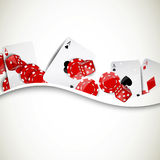 Casino Elements Stock Photo