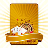casino elements vector Royalty Free Stock Photos