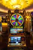 Casino en Cruiseship Fotos de archivo libres de regalías