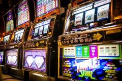Casino en Cruiseship Foto de archivo libre de regalías