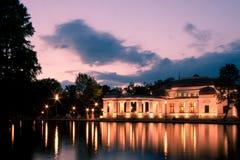 Casino en el lago Fotos de archivo libres de regalías