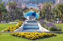 Casino en la bola de cristal - Monte Carlo Foto de archivo