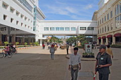 Casino en la frontera de Tailandés-Camboya foto de archivo