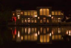 Casino en la noche fotos de archivo