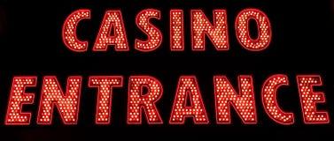 Casino Entrance Stock Photography